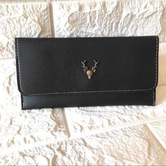 NEW Women's fashion long deer antler wallet